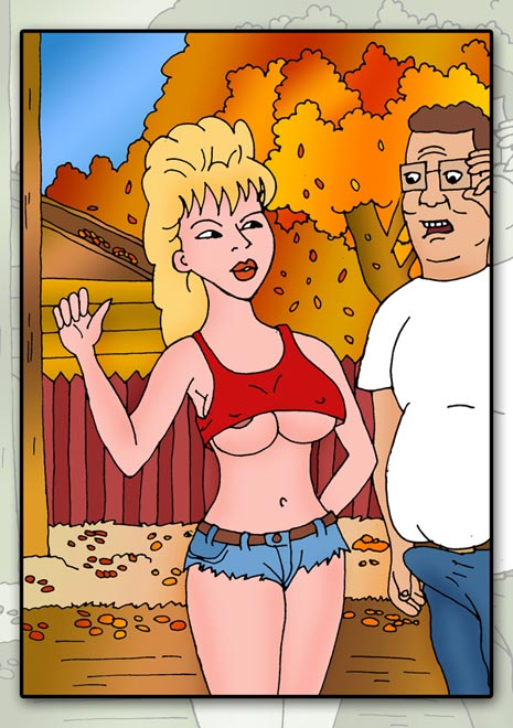 the connie of king porn hill Dennis the menace perils of puberty