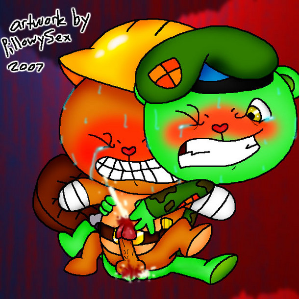 tree happy friends flippy anime Where to find apex starbound