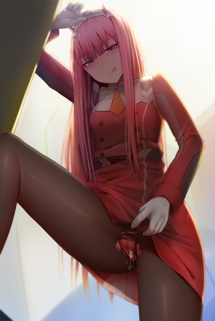 in darling franxx sakimichan the Under(her)tail 2