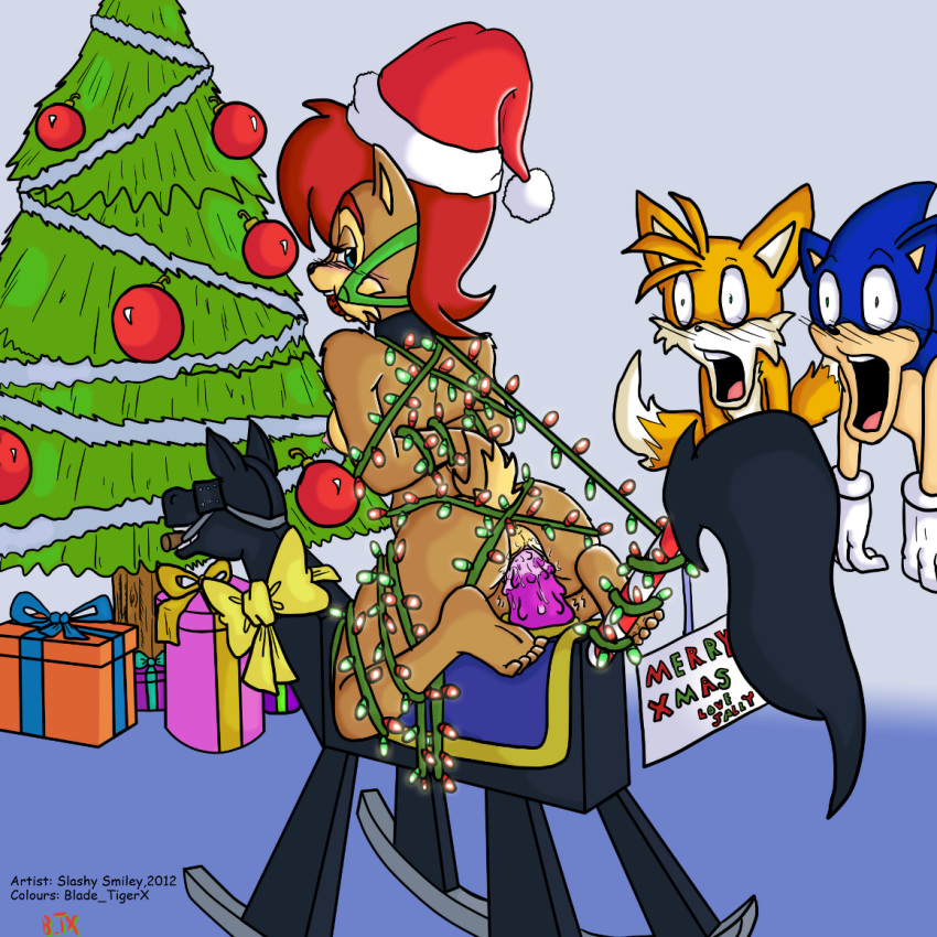 is sonic in stored pee the balls Legend of queen opala cosplay