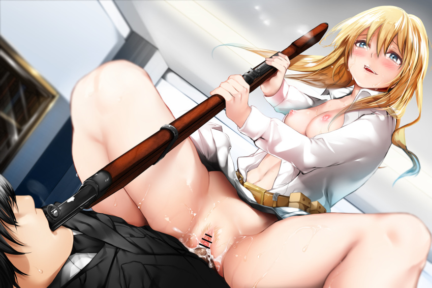 ar-15 frontline girls Lillie from pokemon sun and moon