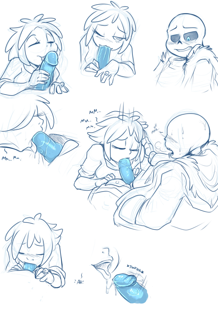 frisk sans undertale x fanfiction Trials in tainted space kiro