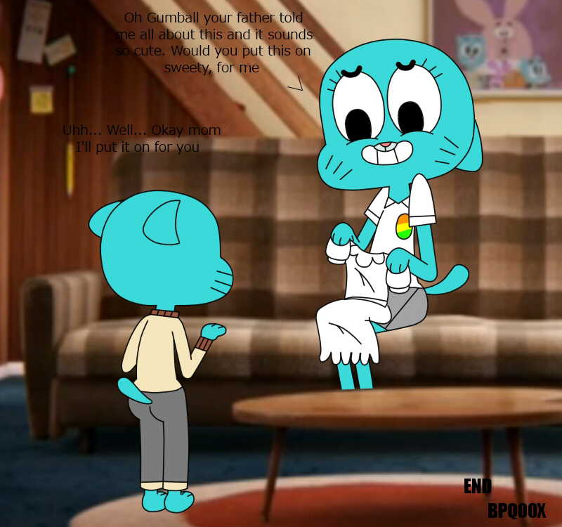 gumball inflation world of amazing the Teen titans go