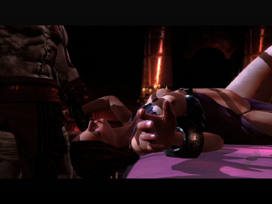 god of war gifs 4 Rule number 34 of the internet